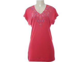Camiseta Feminina Coca-cola Clothing Coca-cola 363200555 Bordo - Tamanho Médio
