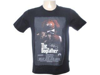 Camiseta Masculina Cavalera Clothing 01.01.6566 Preto - Tamanho Médio