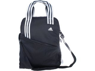 Bolsa Feminina Adidas X14497 Preto/prata - Tamanho Médio