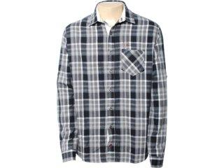Camisa Masculina Index 07.01.0308 Cinza - Tamanho Médio