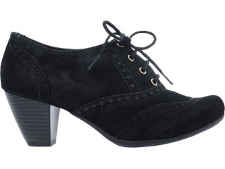 Sapato Feminino Brenners 2503 Preto - Tamanho Médio