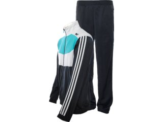 Abrigo Masculino Adidas X22758 Preto/off/verde - Tamanho Médio