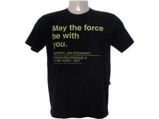 Camiseta Masculina Cavalera Clothing 01.01.6768 Preto - Tamanho Médio