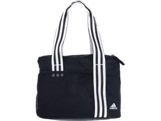 Bolsa Feminina Adidas W64086 Preto/branco - Tamanho Médio