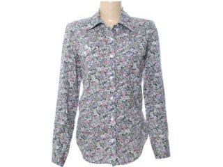 Camisa Feminina Checklist 19.10.2833 Estampada - Tamanho Médio
