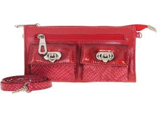 Bolsa Feminina Emme 3856 Vermelho - Tamanho Médio