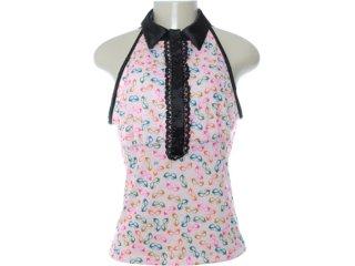 Blusa Feminina Dopping 015652531 Estampada Rosa - Tamanho Médio