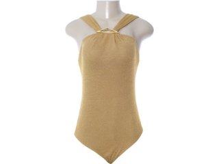 Body Feminino Dopping 016252509 Dourado - Tamanho Médio