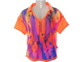 Camisa Feminina Coca-cola Clothing 263200192 Laranja - Tamanho Médio