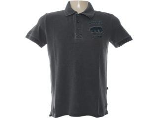 Camisa Masculina Dopping 015462502 Grafite - Tamanho Médio