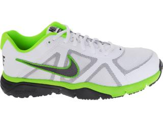 Tênis Masculino Nike 512109-103 Dual Fusion tr Iii Branco/chumbo/limão - Tamanho Médio