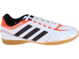 Tênis Masculino Adidas G60099 Ezeiro Iii in Branco/laranja/preto - Tamanho Médio
