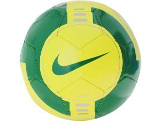 Bola Unisex Nike Sc2120-733 Amarelo/verde - Tamanho Médio