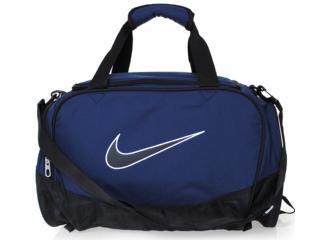 Bolsa Masculina Nike Ba3234-472 Marinho/preto - Tamanho Médio