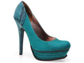 Sapato Feminino Via Marte 12-5904 Verde - Tamanho Médio