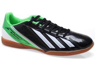 Tênis Masculino Adidas G65409 f5 in Preto/verde/branco - Tamanho Médio