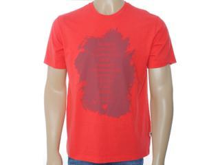 Camiseta Masculina Cavalera Clothing 01.01.6968 Vermelho - Tamanho Médio