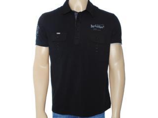 Camisa Masculina Broken Rules 120014 Preto - Tamanho Médio