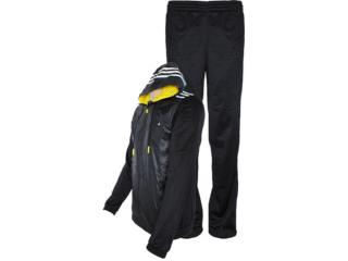 Abrigo Masculino Adidas Z32679 ts Young Preto/branco - Tamanho Médio