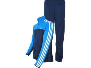 Abrigo Masculino Adidas Z32552 ts Iconic kn  Marinho/azul - Tamanho Médio