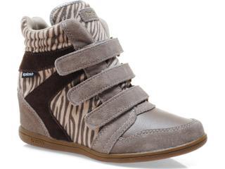 Sneaker Feminino Kolosh C0096 Zebra Bege - Tamanho Médio