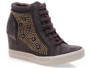 Sneaker Feminino Via Marte 13-3903 Café - Tamanho Médio