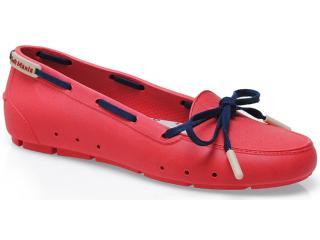 Sapato Feminino Soft Mania 905 Vermelho/marinho - Tamanho Médio