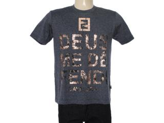 Camiseta Masculina Cavalera Clothing 01.01.7149 Grafite - Tamanho Médio