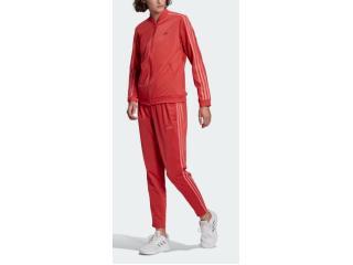 Abrigo Feminino Adidas Gm5581 w 3s Vermelho/rosa - Tamanho Médio
