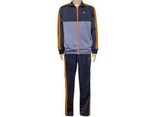 Abrigo Masculino Adidas Ai6589 Mens kn 1 Grafite/laranja - Tamanho Médio