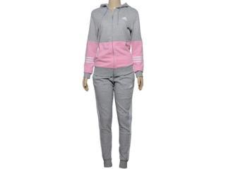Abrigo Feminino Adidas Dx0765 Wts co Energize Cinza/rosa - Tamanho Médio