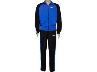 Abrigo Masculino Nike 639136-480 Polywarp Raglan W-up Were Azul/preto - Tamanho Médio