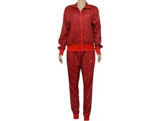 Abrigo Feminino Nike 725761-677 Printed Cuffed  Vermelho/laranja - Tamanho Médio