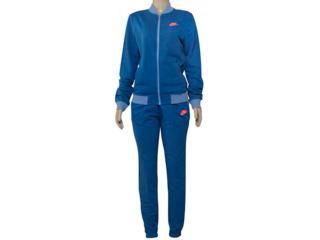 Abrigo Feminino Nike 831119-457 Sportswear Track  Azul Petróleo - Tamanho Médio