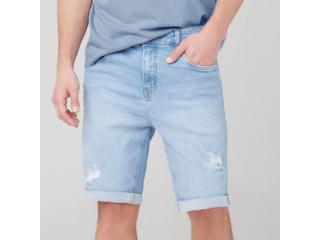 Bermuda Masculina Dzarm Zc4v 1bsn Jeans Claro - Tamanho Médio