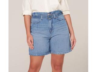 Bermuda Feminina Dzarm Zc4y 1asn  Jeans - Tamanho Médio
