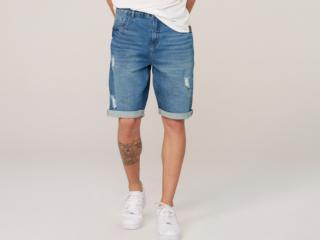 Bermuda Masculina Dzarm Zc4v 1dsn  Jeans - Tamanho Médio