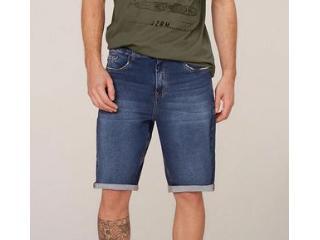 Bermuda Masculina Dzarm Zc4u  1asn Jeans - Tamanho Médio