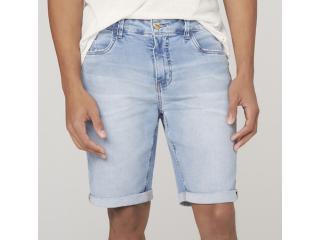 Bermuda Masculina Dzarm Zc4u 1bsn  Jeans Claro - Tamanho Médio