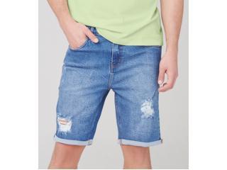 Bermuda Masculina Dzarm Zc4v 1asn Jeans - Tamanho Médio