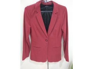 Blazer Feminino Lado Avesso 109617 Vermelho Rouge - Tamanho Médio