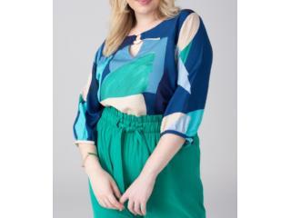 Blusa Feminina Alpelo 11100343 Azul - Tamanho Médio
