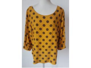 Blusa Feminina Alpelo 11100340 Amarelo Cheddar - Tamanho Médio