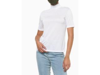 Blusa Feminina Calvin Klein Cf1oc01bc696 Branco - Tamanho Médio