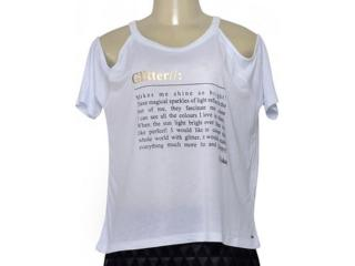 Blusa Feminina Coca-cola Clothing 343202284 Branco - Tamanho Médio