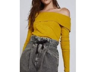 Blusa Feminina Colcci 360115530 53706 Amarelo - Tamanho Médio