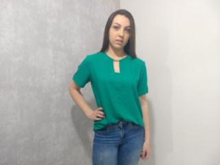 Blusa Feminina Colcci 360115304 39001 Verde - Tamanho Médio
