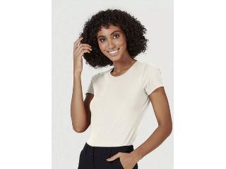Blusa Feminina Hering 4ez9 Yumen Off White - Tamanho Médio