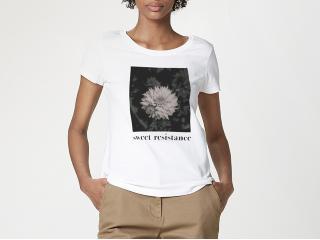 Blusa Feminina Hering 4enk 1yen Branco Estampado - Tamanho Médio