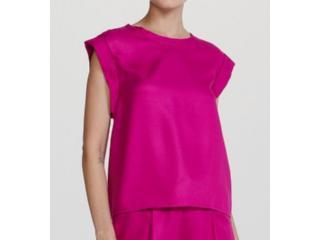 Blusa Feminina Hering Hf2q K37en Pink - Tamanho Médio